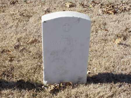 MATTHEWS (VETERAN), ZEB - Pulaski County, Arkansas | ZEB MATTHEWS (VETERAN) - Arkansas Gravestone Photos