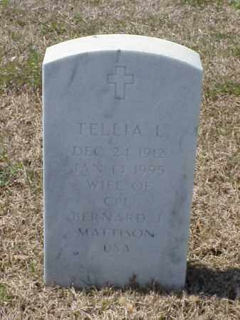 MATTISON, TELLIA L - Pulaski County, Arkansas | TELLIA L MATTISON - Arkansas Gravestone Photos