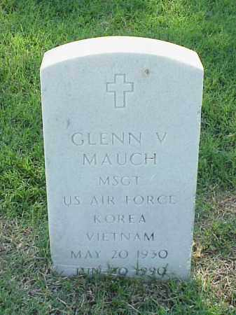 MAUCH (VETERAN 2 WARS), GLENN V - Pulaski County, Arkansas | GLENN V MAUCH (VETERAN 2 WARS) - Arkansas Gravestone Photos