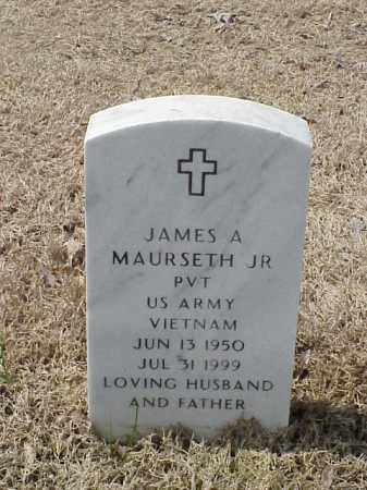 MAURSETH, JR  (VETERAN VIET), JAMES A - Pulaski County, Arkansas | JAMES A MAURSETH, JR  (VETERAN VIET) - Arkansas Gravestone Photos