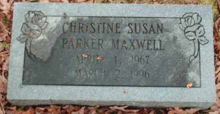 MAXWELL, CHRISTINE SUSAN - Pulaski County, Arkansas | CHRISTINE SUSAN MAXWELL - Arkansas Gravestone Photos
