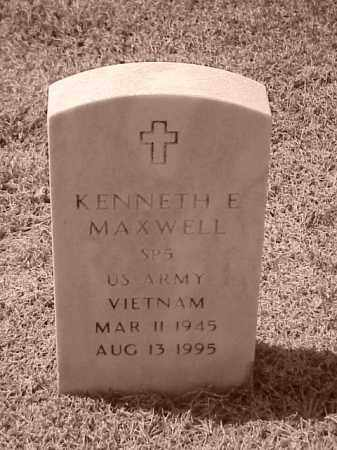 MAXWELL (VETERAN VIET), KENNETH EUGENE - Pulaski County, Arkansas | KENNETH EUGENE MAXWELL (VETERAN VIET) - Arkansas Gravestone Photos