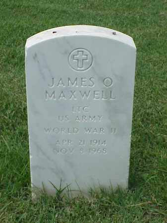 MAXWELL (VETERAN WWII), JAMES O - Pulaski County, Arkansas | JAMES O MAXWELL (VETERAN WWII) - Arkansas Gravestone Photos
