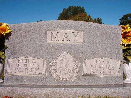 MAY, FRED E - Pulaski County, Arkansas | FRED E MAY - Arkansas Gravestone Photos
