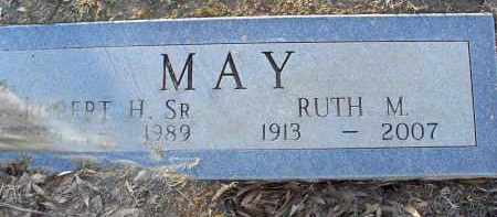 MAY, RUTH M. - Pulaski County, Arkansas | RUTH M. MAY - Arkansas Gravestone Photos
