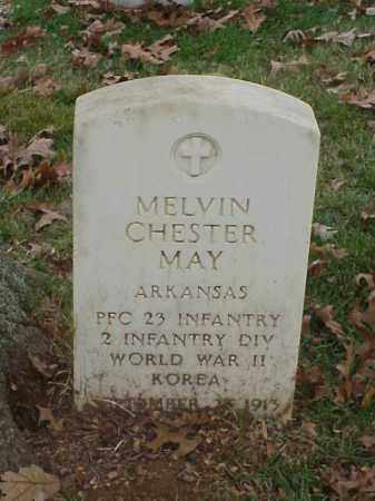 MAY (VETERAN 2 WARS), MELVIN CHESTER - Pulaski County, Arkansas | MELVIN CHESTER MAY (VETERAN 2 WARS) - Arkansas Gravestone Photos