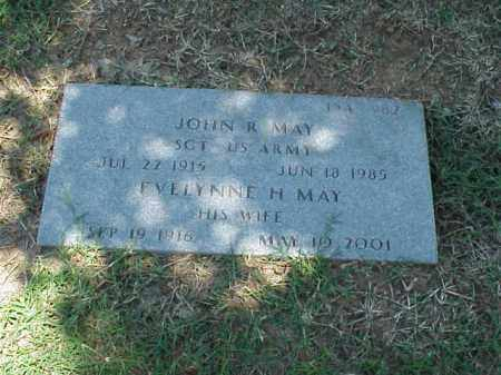 MAY, EVELYNNE - Pulaski County, Arkansas | EVELYNNE MAY - Arkansas Gravestone Photos