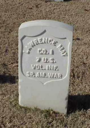 MAY (VETERAN SAW), LAWRENCE - Pulaski County, Arkansas | LAWRENCE MAY (VETERAN SAW) - Arkansas Gravestone Photos