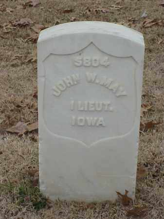 MAY (VETERAN UNION), JOHN W - Pulaski County, Arkansas | JOHN W MAY (VETERAN UNION) - Arkansas Gravestone Photos
