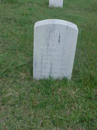MAY (VETERAN WWI), AUDREY C - Pulaski County, Arkansas | AUDREY C MAY (VETERAN WWI) - Arkansas Gravestone Photos