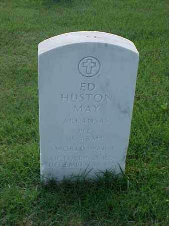 MAY (VETERAN WWI), ED HUSTON - Pulaski County, Arkansas | ED HUSTON MAY (VETERAN WWI) - Arkansas Gravestone Photos