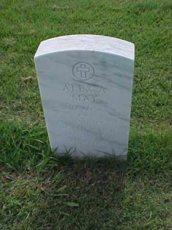 MAY (VETERAN WWII), ALEX A - Pulaski County, Arkansas | ALEX A MAY (VETERAN WWII) - Arkansas Gravestone Photos