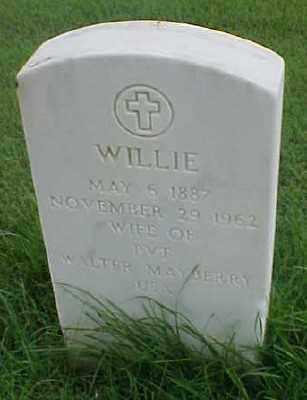 MAYBERRY, WILLIE - Pulaski County, Arkansas | WILLIE MAYBERRY - Arkansas Gravestone Photos