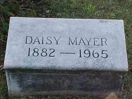 MAYER, DAISY - Pulaski County, Arkansas | DAISY MAYER - Arkansas Gravestone Photos