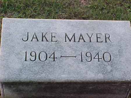 MAYER, JAKE - Pulaski County, Arkansas | JAKE MAYER - Arkansas Gravestone Photos