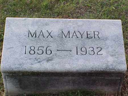 MAYER, MAX - Pulaski County, Arkansas | MAX MAYER - Arkansas Gravestone Photos