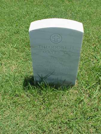 MAYER, SR (VETERAN WWII), THEODORE H - Pulaski County, Arkansas | THEODORE H MAYER, SR (VETERAN WWII) - Arkansas Gravestone Photos