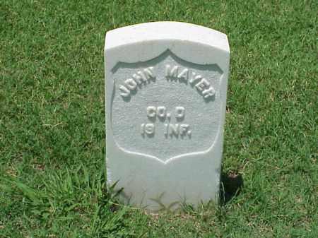 MAYER (VETERAN UNION), JOHN - Pulaski County, Arkansas | JOHN MAYER (VETERAN UNION) - Arkansas Gravestone Photos