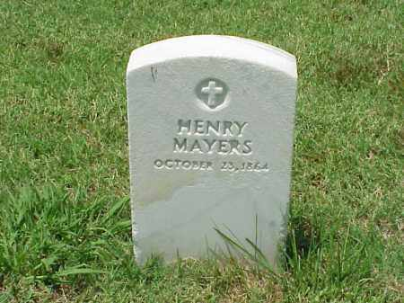 MAYERS, HENRY - Pulaski County, Arkansas | HENRY MAYERS - Arkansas Gravestone Photos