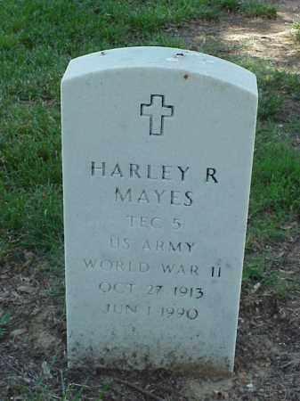 MAYES (VETERAN WWII), HARLEY R - Pulaski County, Arkansas | HARLEY R MAYES (VETERAN WWII) - Arkansas Gravestone Photos