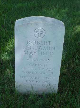 MAYFIELD  (VETERAN WWII), ROBERT BENJAMIN - Pulaski County, Arkansas | ROBERT BENJAMIN MAYFIELD  (VETERAN WWII) - Arkansas Gravestone Photos