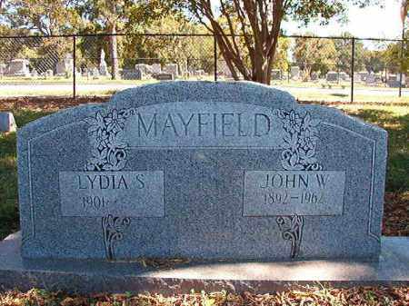 MAYFIELD, JOHN W - Pulaski County, Arkansas | JOHN W MAYFIELD - Arkansas Gravestone Photos