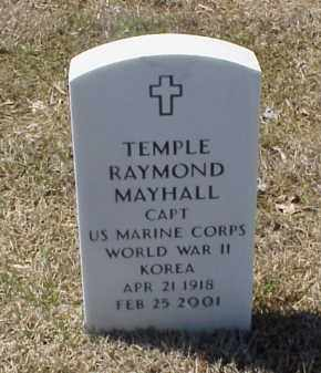 MAYHALL (VETERAN 2 WARS), TEMPLE RAYMOND - Pulaski County, Arkansas | TEMPLE RAYMOND MAYHALL (VETERAN 2 WARS) - Arkansas Gravestone Photos