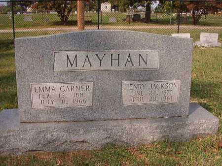 MAYHAN, EMMA - Pulaski County, Arkansas | EMMA MAYHAN - Arkansas Gravestone Photos