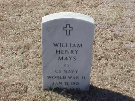 MAYS  (VETERAN WWII), WILLIAM HENRY - Pulaski County, Arkansas | WILLIAM HENRY MAYS  (VETERAN WWII) - Arkansas Gravestone Photos