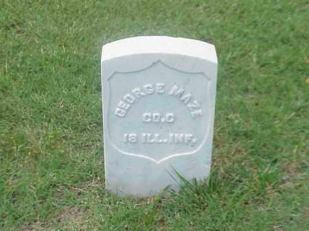 MAZE (VETERAN UNION), GEORGE - Pulaski County, Arkansas | GEORGE MAZE (VETERAN UNION) - Arkansas Gravestone Photos