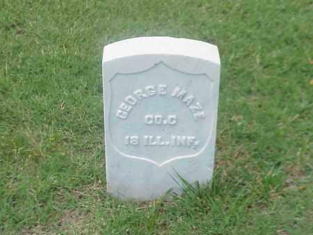MAZE (VETERAN UNION), GEORGE - Pulaski County, Arkansas   GEORGE MAZE (VETERAN UNION) - Arkansas Gravestone Photos