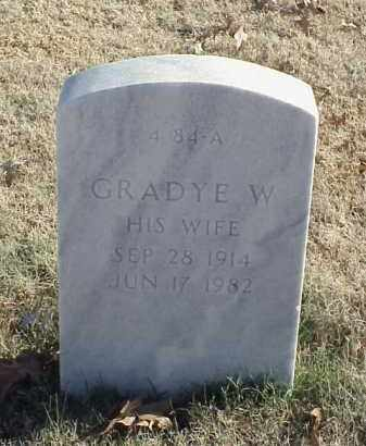 MCBETH, GRADYE W - Pulaski County, Arkansas | GRADYE W MCBETH - Arkansas Gravestone Photos