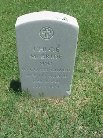 MCBRIDE (VETERAN WWII), CHLOE - Pulaski County, Arkansas | CHLOE MCBRIDE (VETERAN WWII) - Arkansas Gravestone Photos