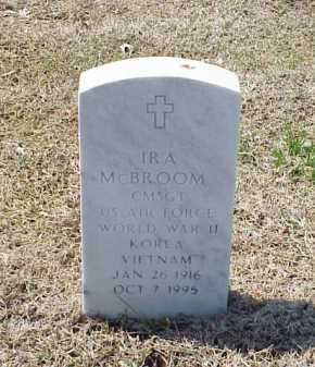 MCBROOM (VETERAN 3 WARS), IRA - Pulaski County, Arkansas | IRA MCBROOM (VETERAN 3 WARS) - Arkansas Gravestone Photos