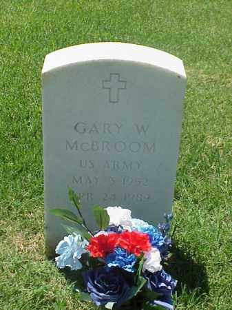 MCBROOM (VETERAN VIET), GARY W - Pulaski County, Arkansas | GARY W MCBROOM (VETERAN VIET) - Arkansas Gravestone Photos