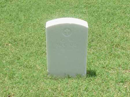 MCCABE (VETERAN UNION), G W - Pulaski County, Arkansas | G W MCCABE (VETERAN UNION) - Arkansas Gravestone Photos
