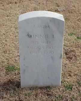 MCCAIG, MINNIE L - Pulaski County, Arkansas | MINNIE L MCCAIG - Arkansas Gravestone Photos