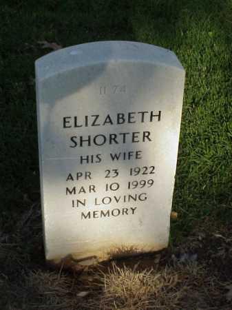 SHORTER MCCALL, ELIZABETH - Pulaski County, Arkansas | ELIZABETH SHORTER MCCALL - Arkansas Gravestone Photos