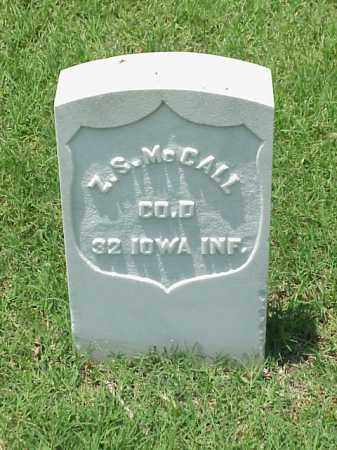 MCCALL (VETERAN UNION), Z S - Pulaski County, Arkansas | Z S MCCALL (VETERAN UNION) - Arkansas Gravestone Photos
