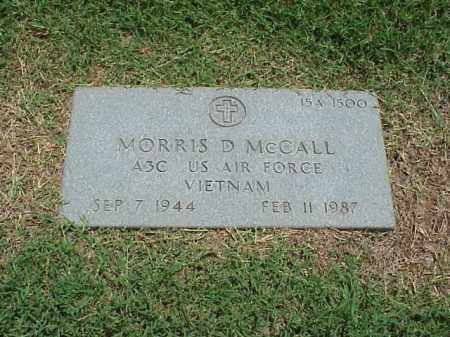 MCCALL (VETERAN VIET), MORRIS D - Pulaski County, Arkansas | MORRIS D MCCALL (VETERAN VIET) - Arkansas Gravestone Photos