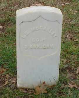 MCCARLEY (VETERAN UNION), ISAAC C - Pulaski County, Arkansas | ISAAC C MCCARLEY (VETERAN UNION) - Arkansas Gravestone Photos