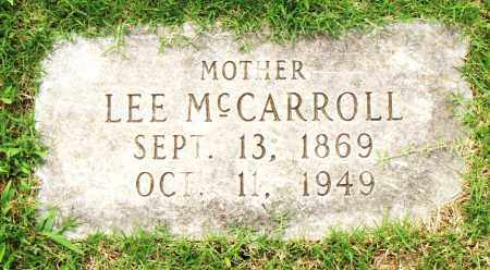 MCCARROLL, LEE - Pulaski County, Arkansas | LEE MCCARROLL - Arkansas Gravestone Photos