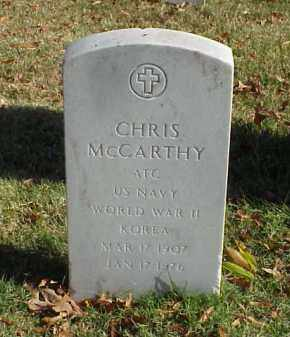 MCCARTHY (VETERAN 2 WARS), CHRIS - Pulaski County, Arkansas | CHRIS MCCARTHY (VETERAN 2 WARS) - Arkansas Gravestone Photos