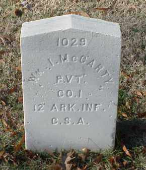 MCCARTY (VETERAN CSA), WILLIAM I - Pulaski County, Arkansas | WILLIAM I MCCARTY (VETERAN CSA) - Arkansas Gravestone Photos