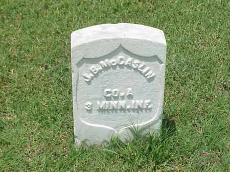 MCCASLIN (VETERAN UNION), J B - Pulaski County, Arkansas | J B MCCASLIN (VETERAN UNION) - Arkansas Gravestone Photos