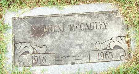 MCCAULEY, EARNEST - Pulaski County, Arkansas | EARNEST MCCAULEY - Arkansas Gravestone Photos