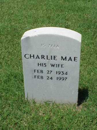 MCCLAIN, CHARLIE MAE - Pulaski County, Arkansas | CHARLIE MAE MCCLAIN - Arkansas Gravestone Photos