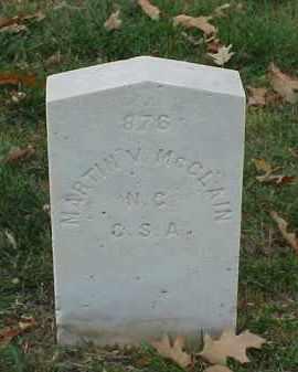 MCCLAIN (VETERAN CSA), MARTIN V - Pulaski County, Arkansas   MARTIN V MCCLAIN (VETERAN CSA) - Arkansas Gravestone Photos
