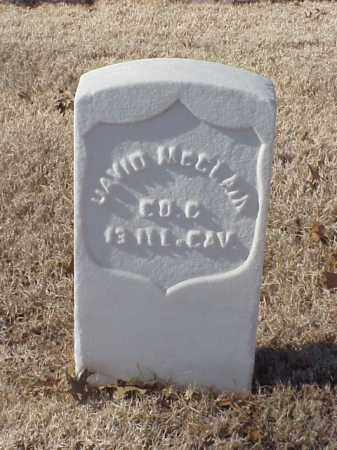MCCLAIN (VETERAN UNION), DAVID - Pulaski County, Arkansas | DAVID MCCLAIN (VETERAN UNION) - Arkansas Gravestone Photos