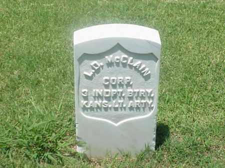 MCCLAIN (VETERAN UNION), LORENZO D - Pulaski County, Arkansas | LORENZO D MCCLAIN (VETERAN UNION) - Arkansas Gravestone Photos